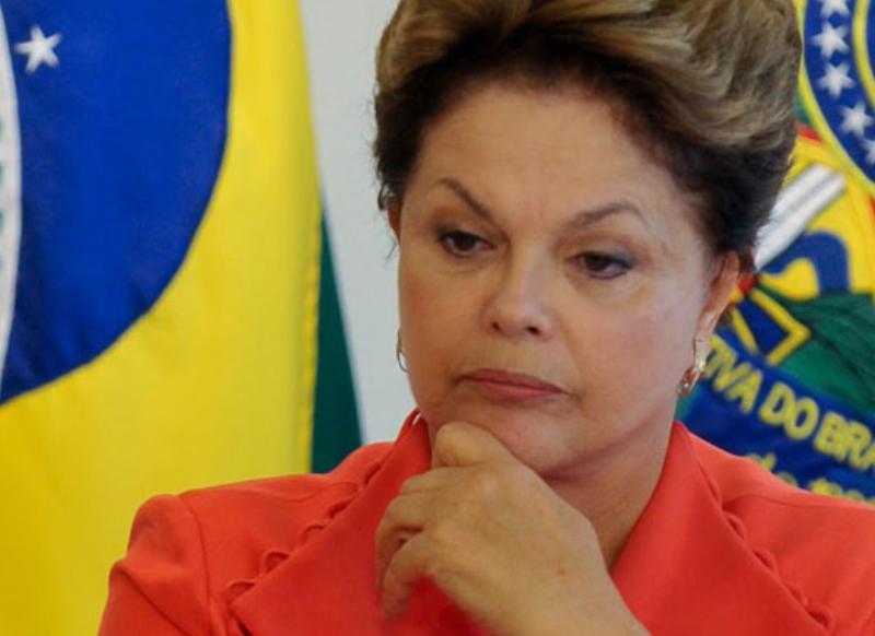 Dilma preocupada