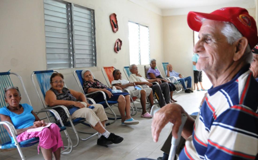 hogar ancianos en Cuba