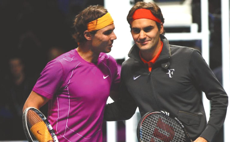 Nadal y Federer