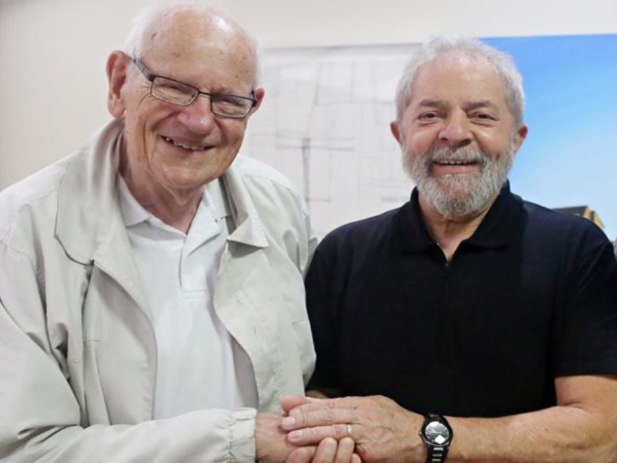 Francois Houtart con Lula