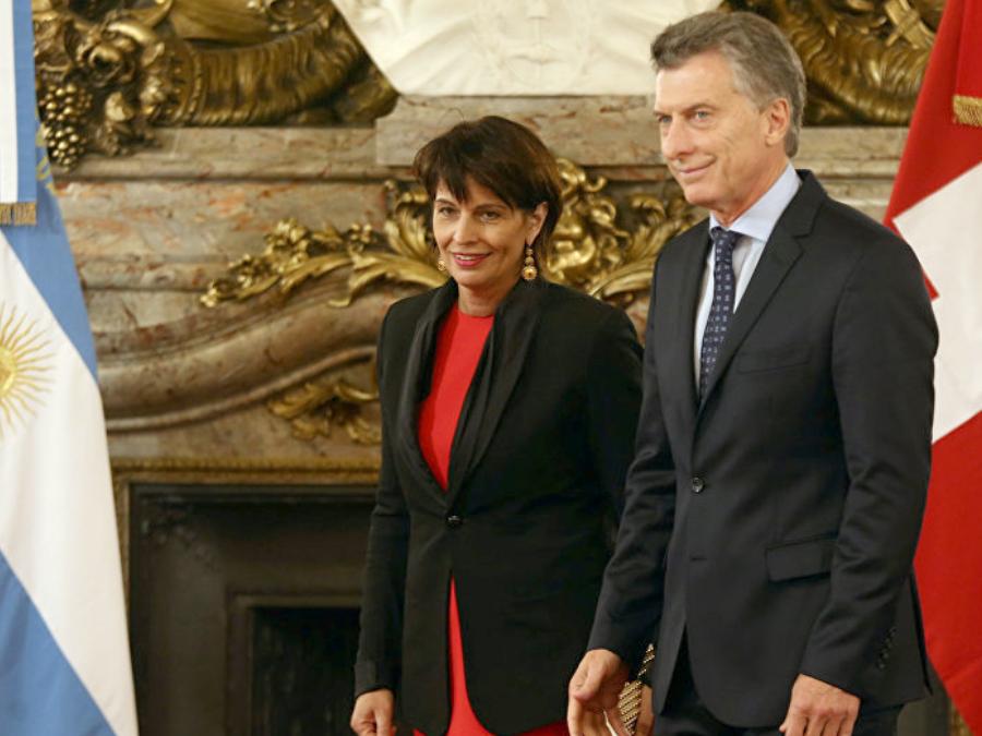 Suiza y Argentina
