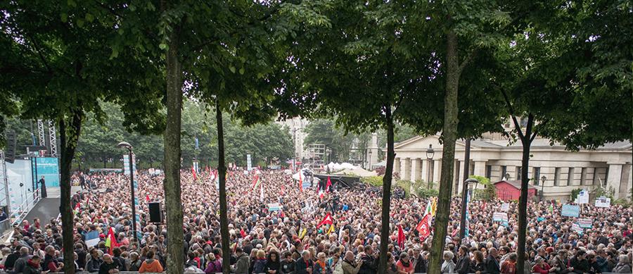 Expectativa en las votaciones francesas